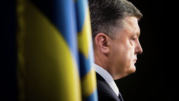 Prezident Ukrajiny Petr Porošenko - Sputnik Česká republika