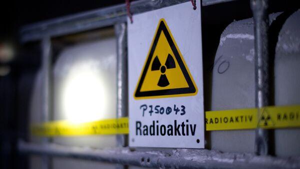 Nádrž s radioaktivní vodou - Sputnik Česká republika