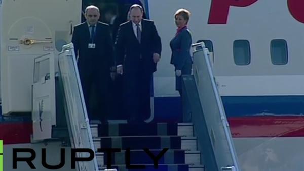 Putin a Lavrov v Teheránu: někdo autobusem, někdo v limuzíně - Sputnik Česká republika