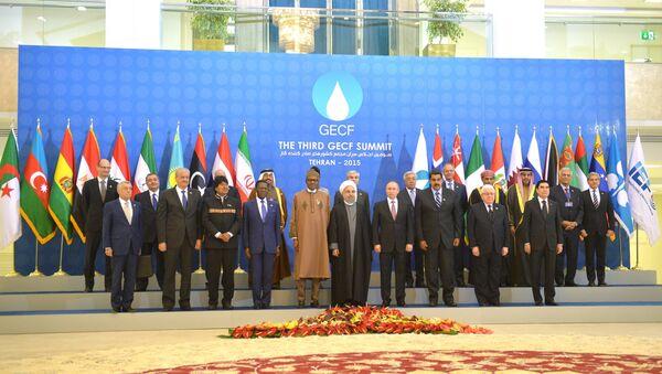 Ruský prezident Vladimir Putin v Teheránu na fóru zemí vyvážejících plyn - Sputnik Česká republika