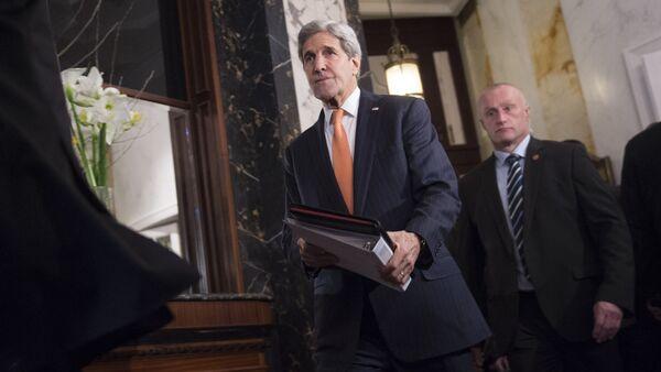 John Kerry v Rakousku - Sputnik Česká republika