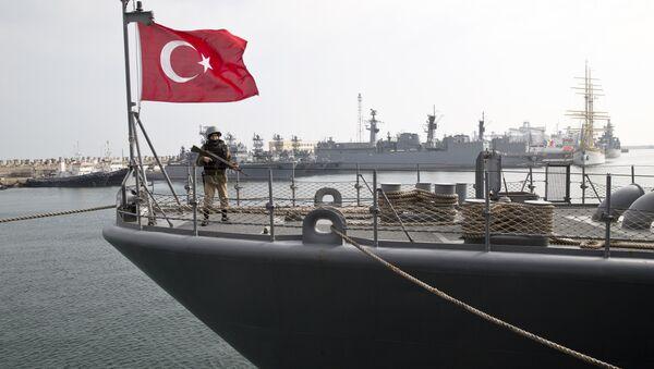 Turecká loď, Černé moře - Sputnik Česká republika