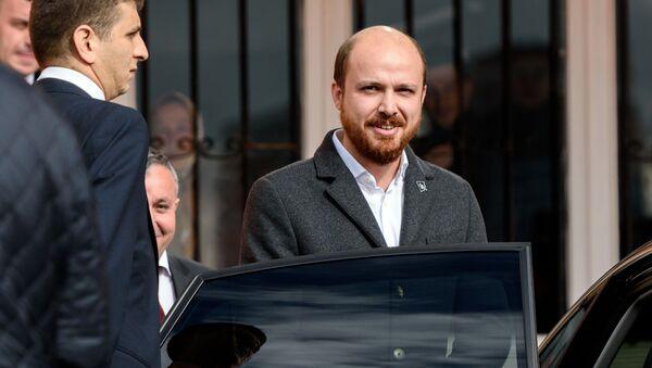 Syn tureckého prezidenta Bilal Erdogan - Sputnik Česká republika