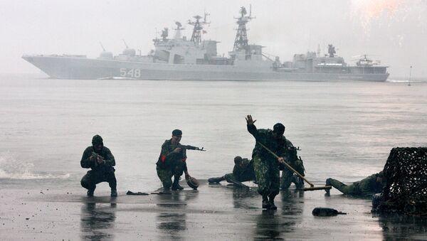 Námořní pěchota hájí zájmy Ruska na všech oceánských bojištích - Sputnik Česká republika