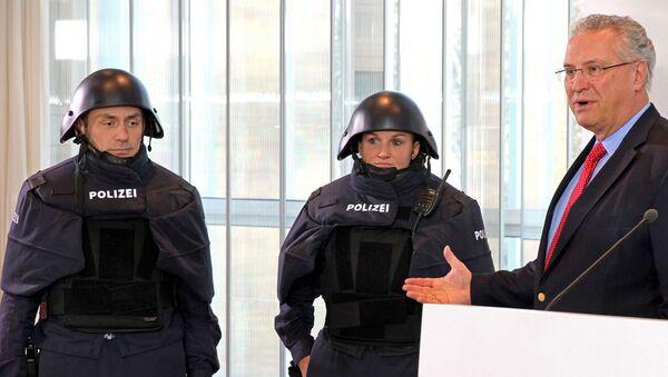 Nová uniforma německých policistů - Sputnik Česká republika
