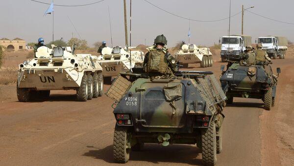 Mírové síly OSN v Mali - Sputnik Česká republika