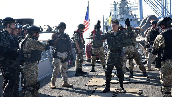 Společná ukrajinsko-americká cvičení Sea Breeze. Archivní foto - Sputnik Česká republika