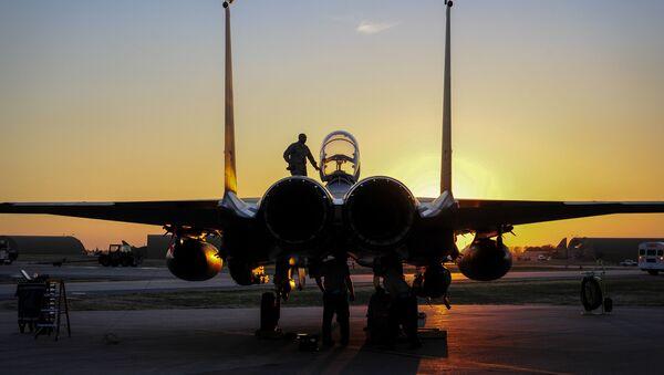 F-15E amerického letectva - Sputnik Česká republika