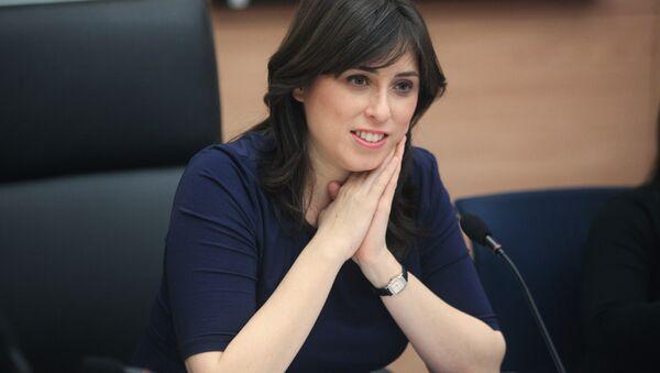 Náměstkyně izraelského ministra zahraničních věcí Cipi Chotovely - Sputnik Česká republika