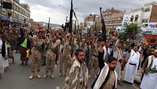 Hútíové v Jemenu - Sputnik Česká republika