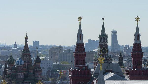 Виды на Красную площадь и собор Василия Блаженного - Sputnik Česká republika