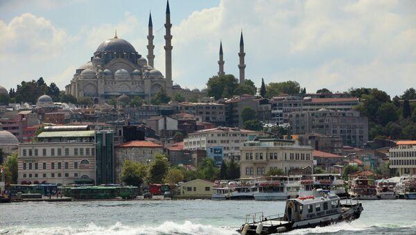 Istanbul. Průliv Bospor - Sputnik Česká republika
