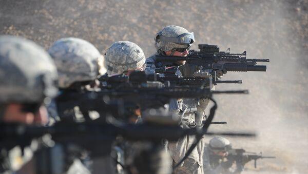 Vojáci USA v Iráku - Sputnik Česká republika