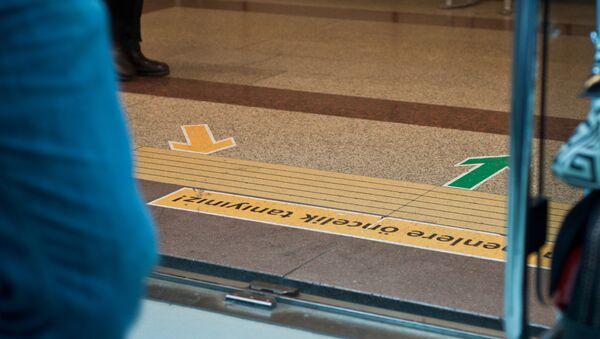 Podlaha istanbulského metra - Sputnik Česká republika