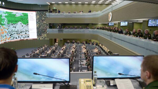 Národní centrum řízení obrany ruského ministerstva - Sputnik Česká republika