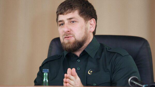 Čečenský prezident Ramzan Kadyrov - Sputnik Česká republika