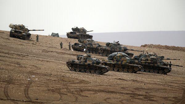 Turecká vojenská technika - Sputnik Česká republika