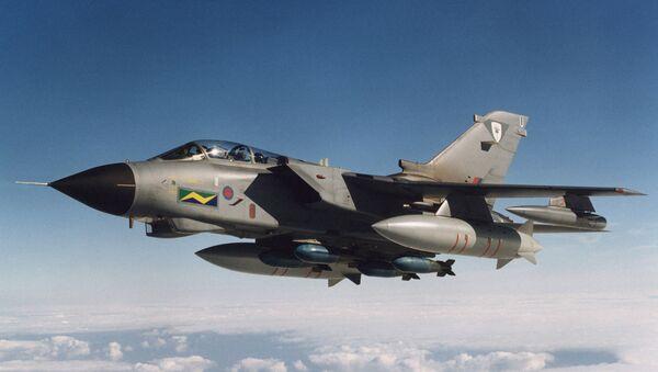 Britský bombardér Tornado - Sputnik Česká republika