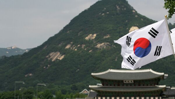 Jihokorejská vlajka - Sputnik Česká republika