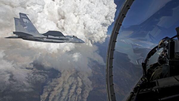 F-15 Eagles - Sputnik Česká republika