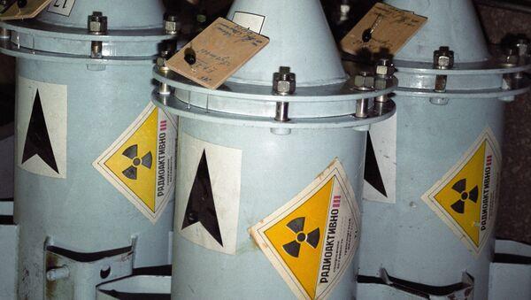 Kontejnery s jaderným palivem - Sputnik Česká republika