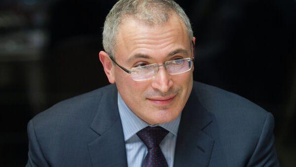 Michail Chodorkovský - Sputnik Česká republika