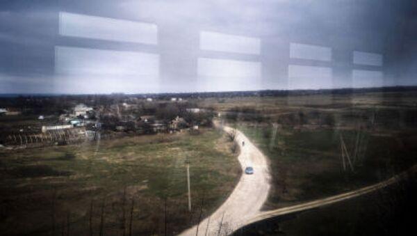 Pohled z vlaku Jasinovataja-Luhansk - Sputnik Česká republika