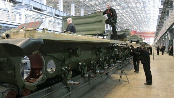 Uralvagonzavod, výrobní dílna - Sputnik Česká republika