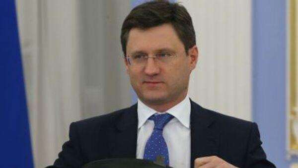 Ministr energetiky Ruska Alexandr Novak - Sputnik Česká republika