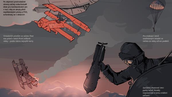 Zákopy, ostnatý drát a nové zbraně První světové války - Sputnik Česká republika