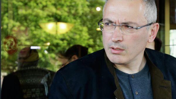 Michail Chodorkovskij - Sputnik Česká republika