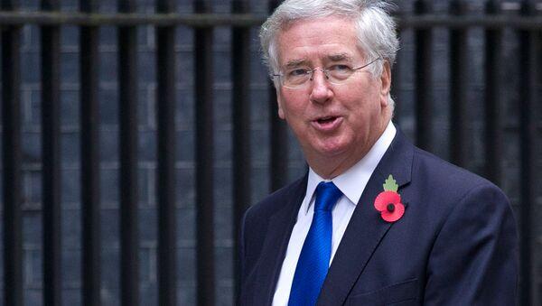 Ministr obrany Velké Británie Michael Fallon - Sputnik Česká republika