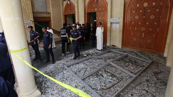 Mešita imáma as-Sádiqa v Kuvajt City po teroristickém útoku - Sputnik Česká republika