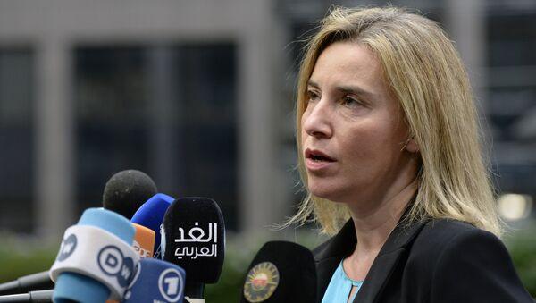 Šéfka diplomacie EU Federica Mogheriniová - Sputnik Česká republika