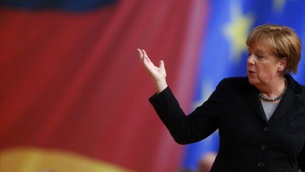Angela Merkelová - Sputnik Česká republika
