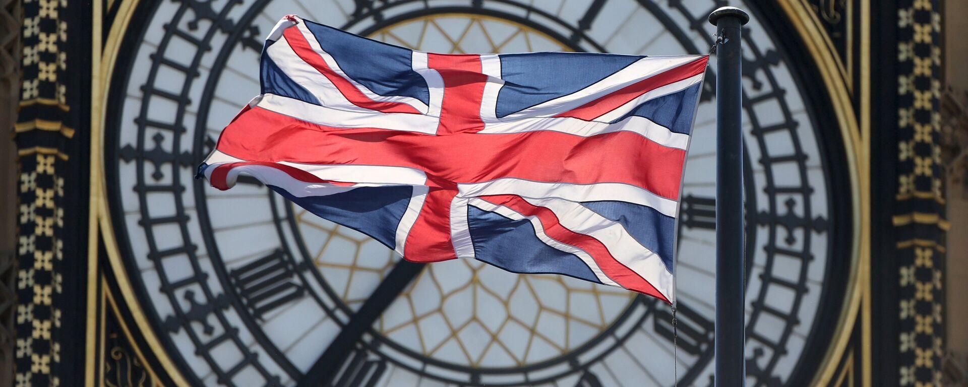 Vlajka Velké Británie - Sputnik Česká republika, 1920, 09.05.2021