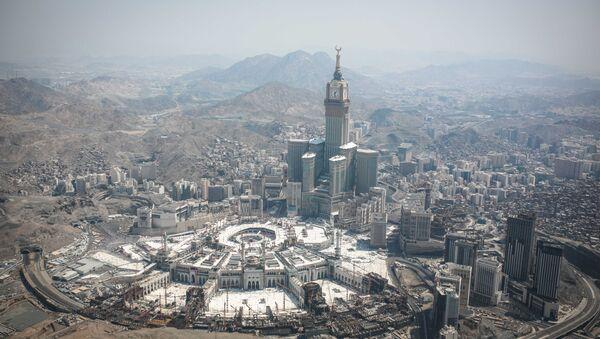 Pohled na Mekku, Saúdská Arábie - Sputnik Česká republika