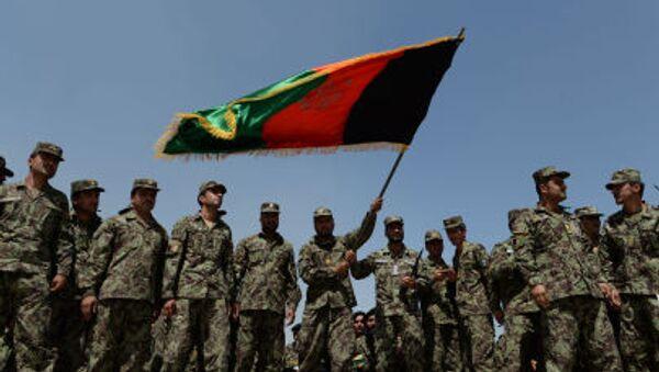 Afghánští vojáci - Sputnik Česká republika