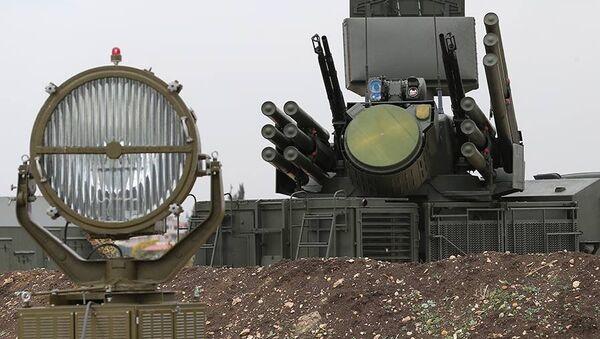 Systém vzdušné obrany na ruské letecké základně Hmeimim v Sýrii - Sputnik Česká republika