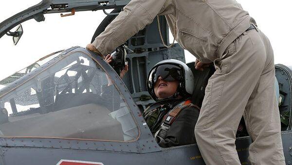 Ruský letec v Sýrii - Sputnik Česká republika