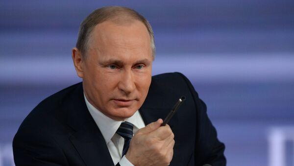 Prezident RF Vladimir Putin - Sputnik Česká republika