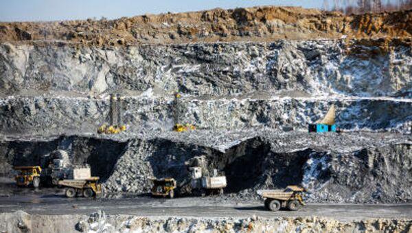 Zlatý důl. Ilustrační foto - Sputnik Česká republika