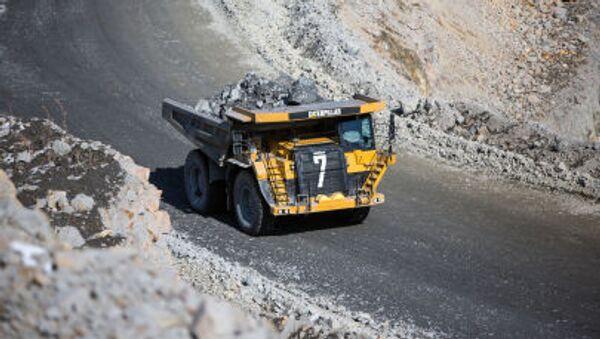 Zlatý důl Pioner (pionýr) v Amurské oblasti. Ilustrační foto - Sputnik Česká republika