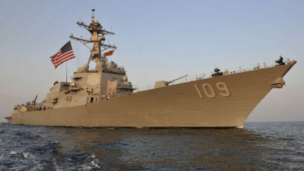 Torpédoborec Jason Dunham amerického vojenského námořnictva - Sputnik Česká republika