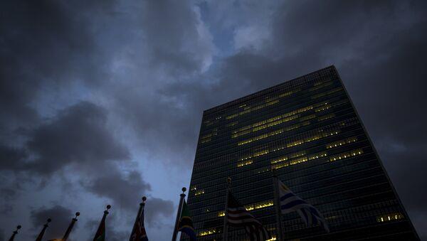 Budova OSN - Sputnik Česká republika