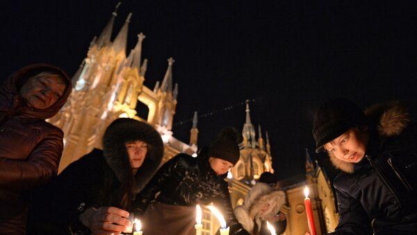 Katedrála Neposkvrněného početí v Malé Gruzínské ulici v Moskvě - Sputnik Česká republika