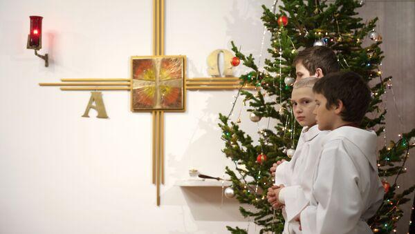 Oslava Vánoc. Ilustrační foto - Sputnik Česká republika
