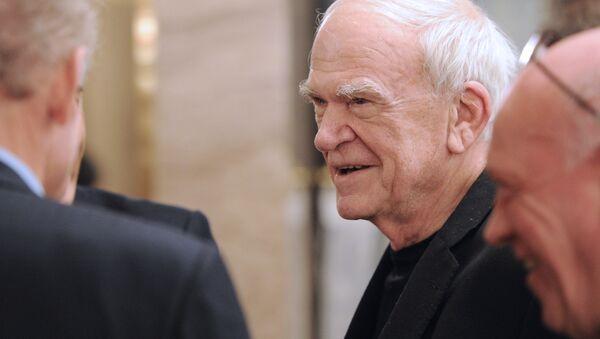 Milan Kundera - Sputnik Česká republika
