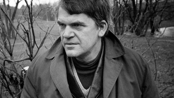 český spisovatel Milan Kundera - Sputnik Česká republika