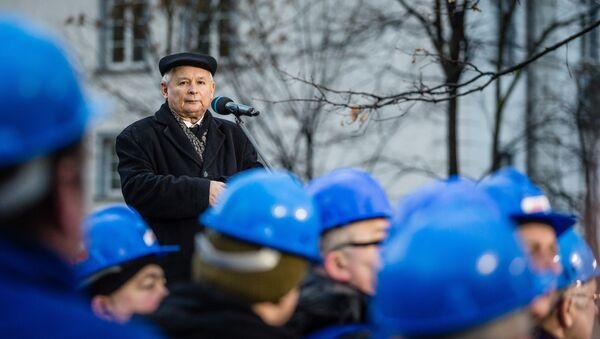 Jarosław Kaczyński, lídr pravicově radikální strany Právo a spravedlnost - Sputnik Česká republika